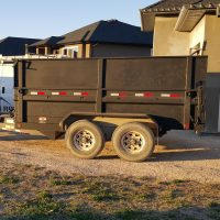 12 Foot Dump Trailer Load Trail