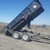 Big Tex 7 ton dump trailer