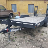 Equipment Trailer Rentals Winnipeg MB