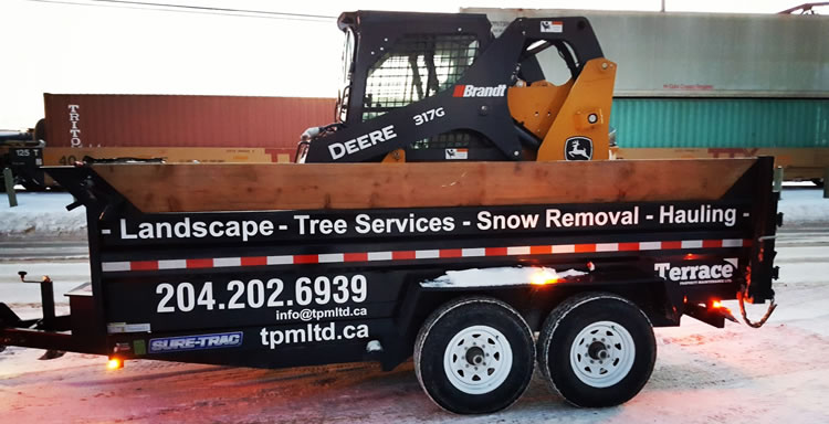 Excavation and Landscape Services Winnipeg