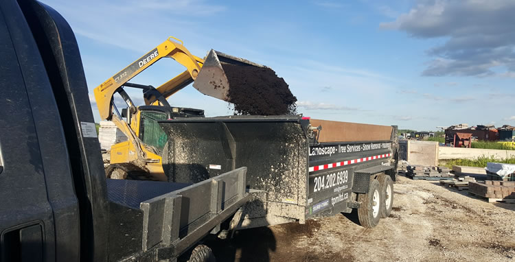 Landscaping Material Deliveries
