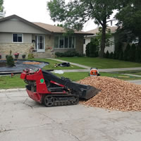 Mini Skid Steer Rentals Winnipeg MB