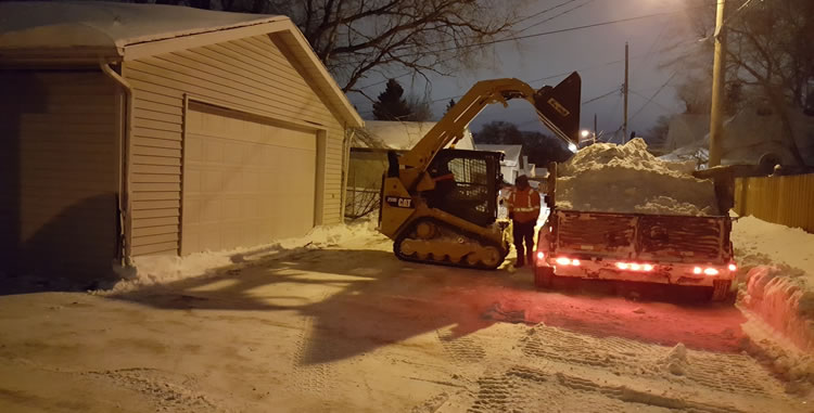 Residential Snow Removal Services in Winnipeg MB