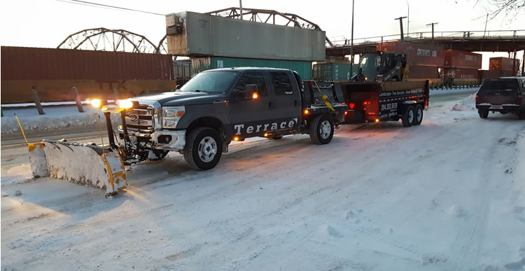 Snow Handling Services Winnipeg