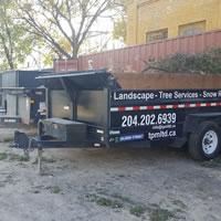 Dumping Trailer Rentals Winnipeg