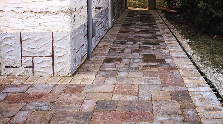 Brick and Stone Paver Patios and Walkways Winnipeg, MB.