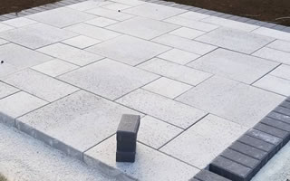 Hardscaping Services including Brick and Paver Driveays and Patios